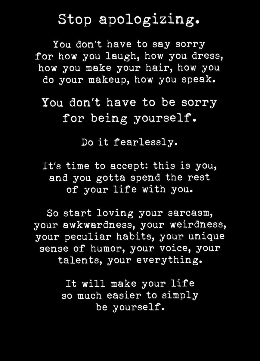Someone sent me this yesterday & I just love it.  I really struggle with liking myself. I'm my own worst enemy.  So when I read this yesterday it resonated. I think we could all do with being a little kinder to ourselves.  Because I've only got one 'me'.  #WednesdayWisdom