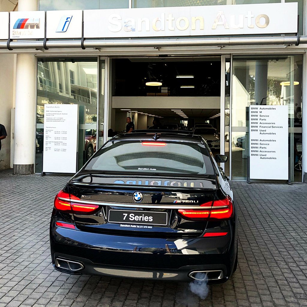 Sandton Auto Bmw On Twitter The Bmw M760li Xdrive Is The 7 Series