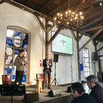 "Key learning of the #partnership between @elinvar_de and @MMWarburg : ""The most important factor, #trust, is always established between people."" @chbartz & @JanCKuehne @EXECconf  #EXEC2018"