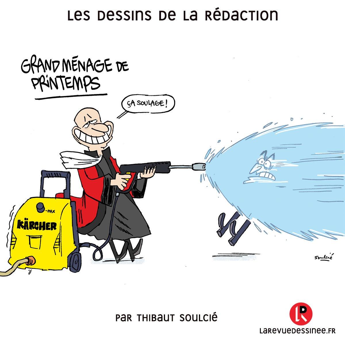 Le Dessin De La Rédaction Par Soulcié At Tsoulcie Sarkozy En