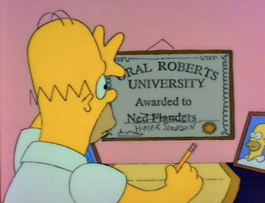 Los Simpsons también predijeron lo de Cr...