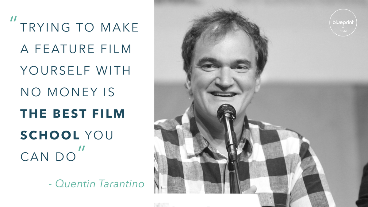 Blueprint film on twitter trying to make a feature film yourself blueprint film on twitter trying to make a feature film yourself with no money is the best film school you can do quentintarantino wednesdaywisdom malvernweather Image collections