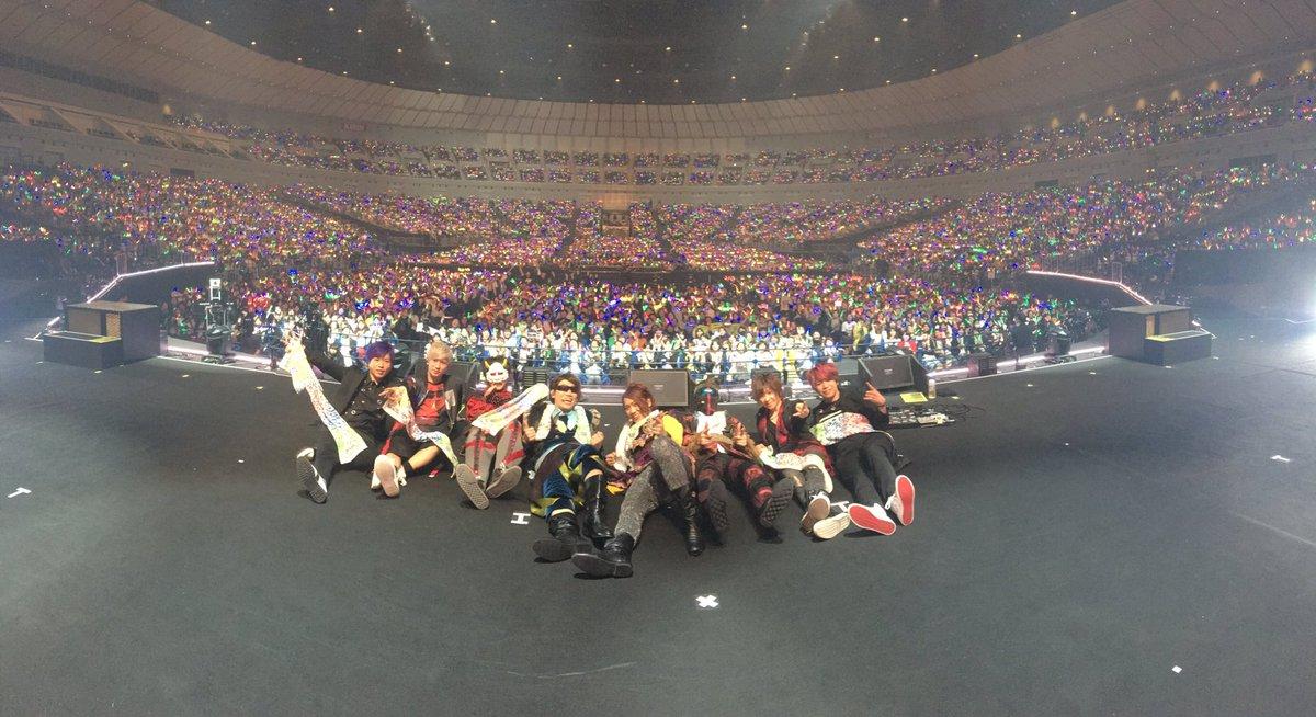 横浜アリライブありがとうございましたあああああああ!!! 無事に終わって良かった! そして21時30分からチャンネル生放送やるよーい!