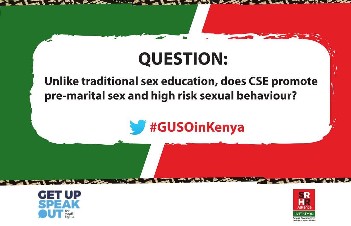 Comprehensive sexuality education in kenya