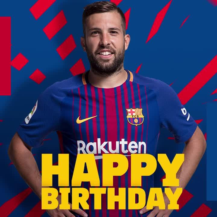 �� Happy birthday, @JordiAlba! ���� https://t.co/NI4q4MAwrn