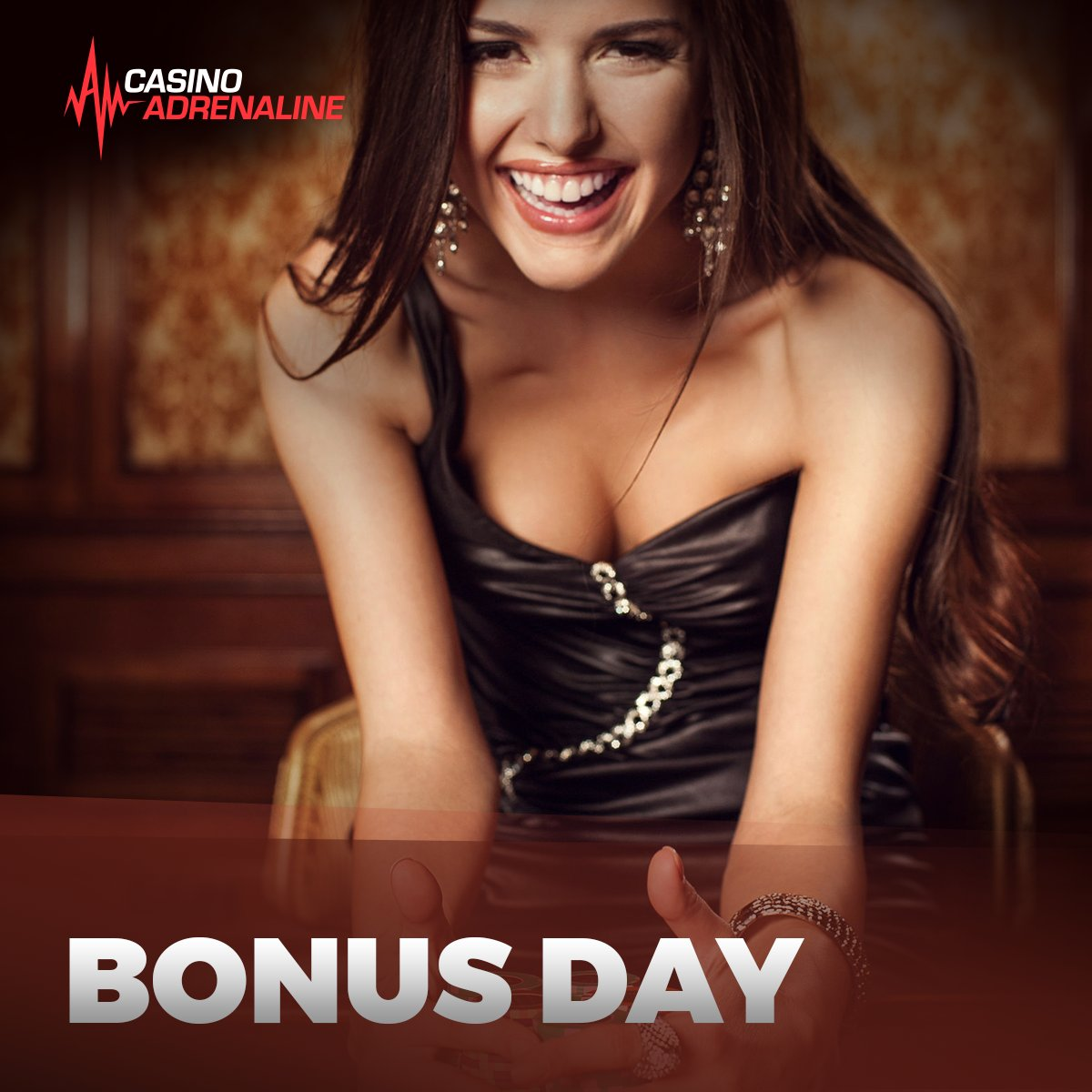 test Twitter Media - Don't miss our Bonus Day! Check out our web page every day and be ready to grab it! 😁 #CasinoAdrenaline #bonusday Stay tuned: https://t.co/M81OSRlmqx https://t.co/jB9L7VxXFu