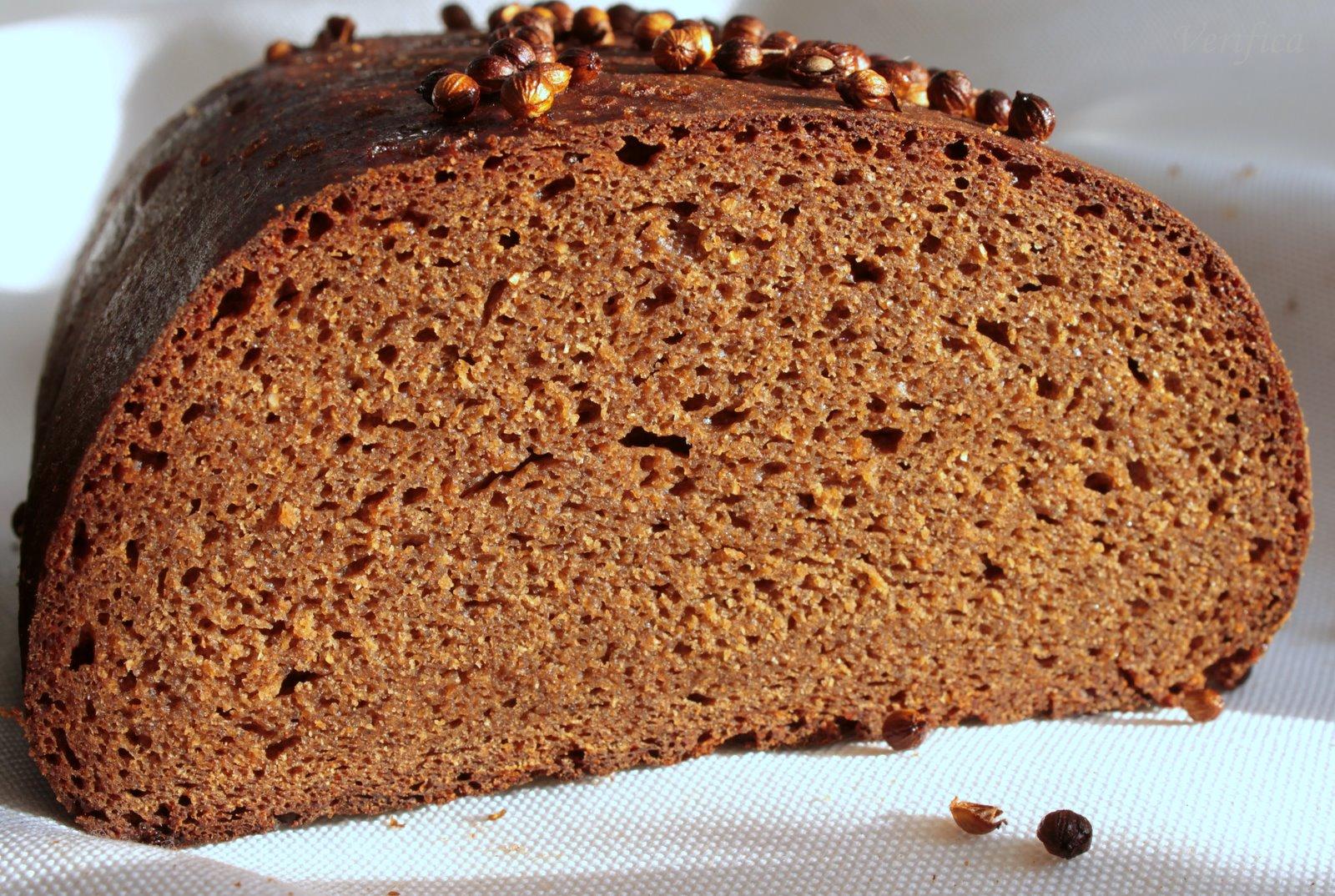 Черный хлеб фото рецепт