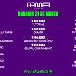 #FamaABailar21M