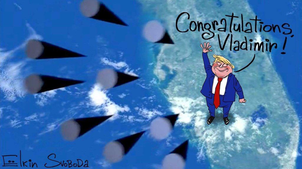 """""""Це називається протоколом"""", - Держдеп США про привітання Путіна Трампом - Цензор.НЕТ 3871"""