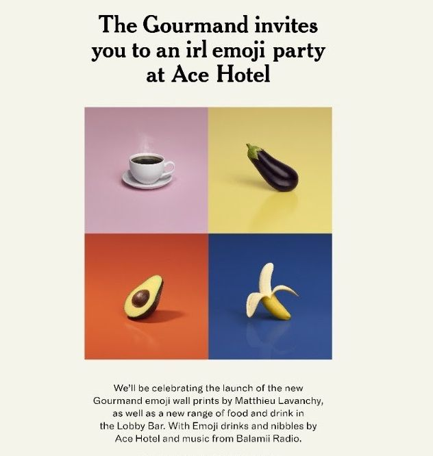 🍹 Join @Gourmand at @acehotel in London...