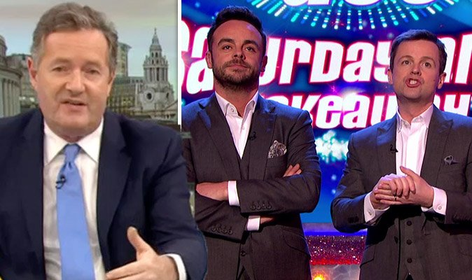 Ant McPartlin news: Piers Morgan reveals his advice to Dec Donnelly over future #GMB https://t.co/1VuTs0DPLM https://t.co/OYFf1G8cks