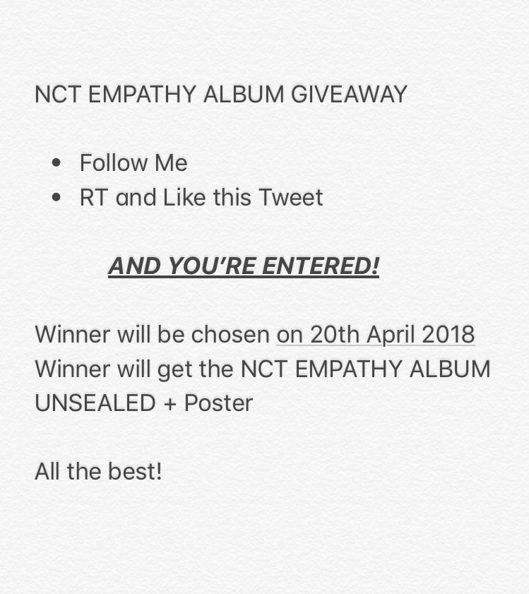 Nct Empathy Album