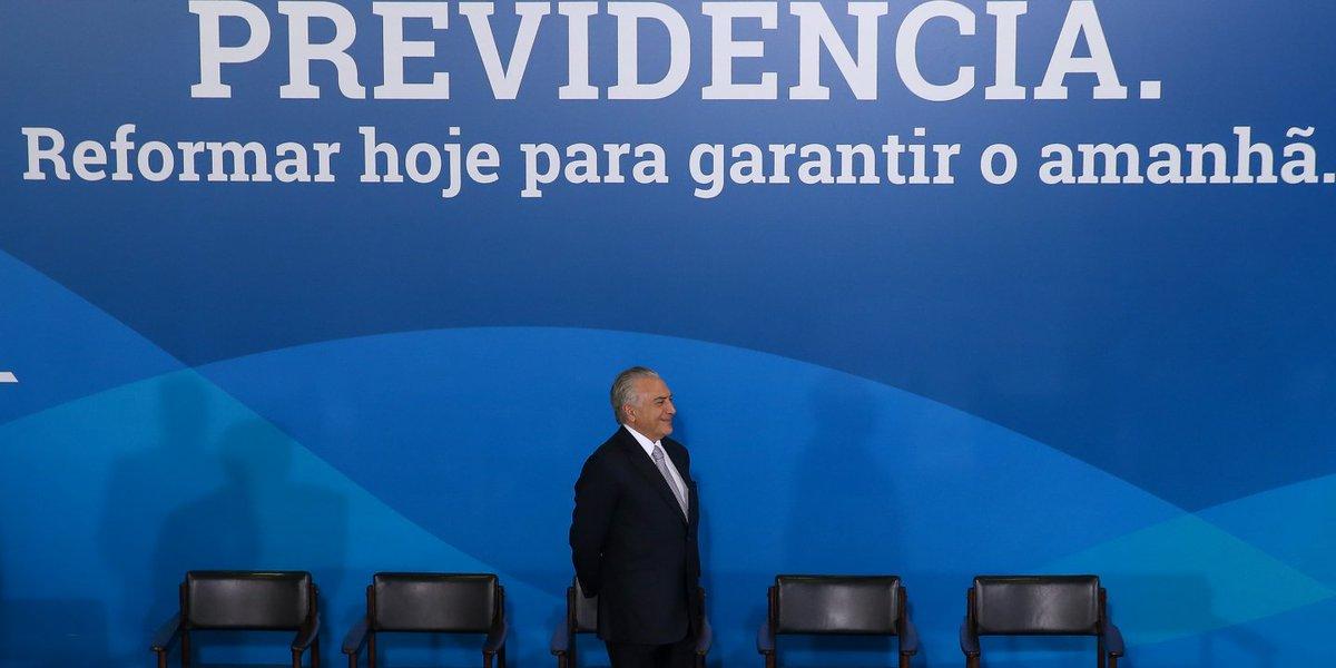 Governo usou dinheiro público para convencer população sobre a necessidade da Reforma da Previdência. Grupo Globo levou 1/3 dos milhões que Michel Temer queimou em publicidade. https://t.co/urNWoNd4HH