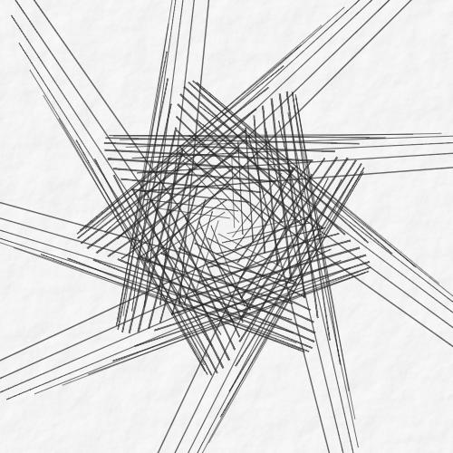 ➤ Edit and animate it on Iterograph https://t.co/mE8zujBFxD #abstract #geometry #art #proceduralart #iterograph