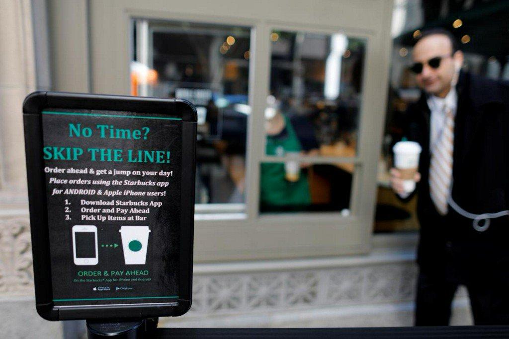Starbucks' mobile order push meets resistance from ritual seekers https://t.co/9aaTrF8JQW https://t.co/W4y6ZnHeQd