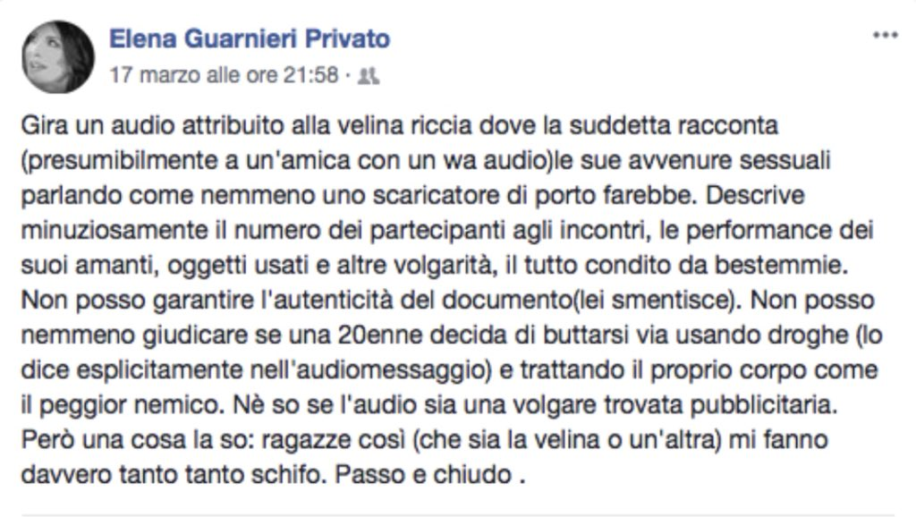 Selvaggia Lucarelli on Twitter: