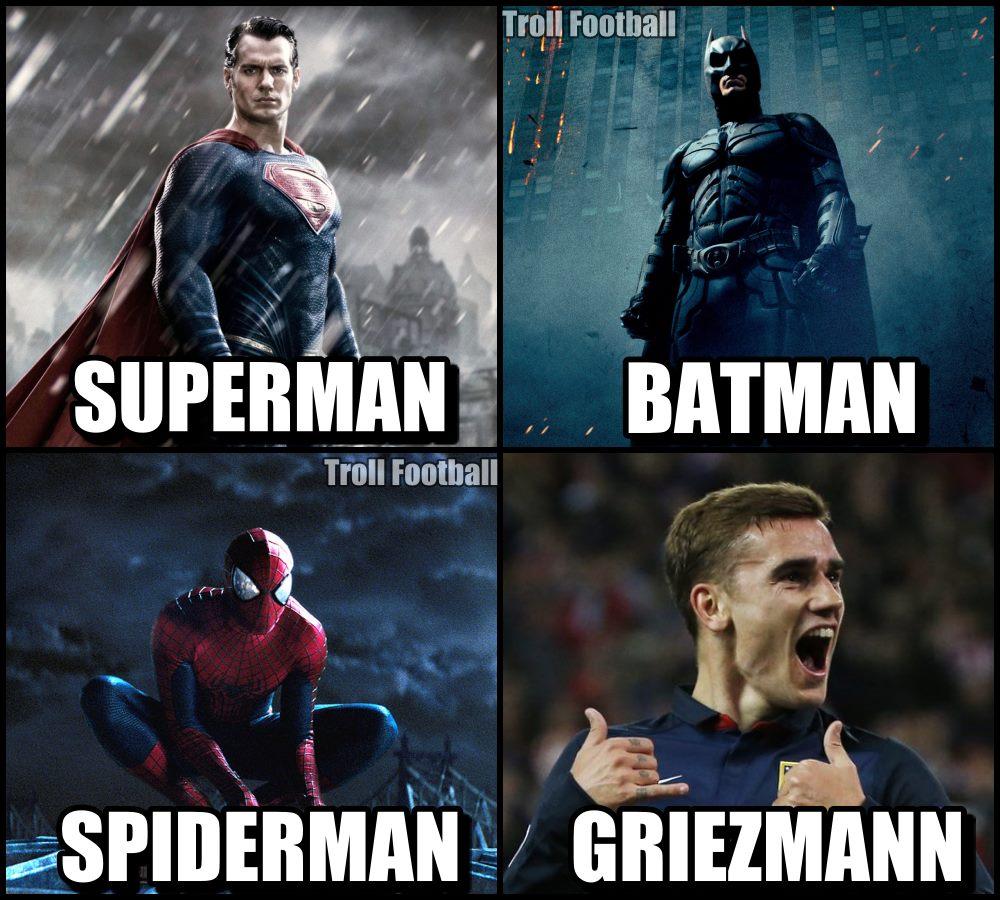 Troll Football's photo on Antoine Griezmann