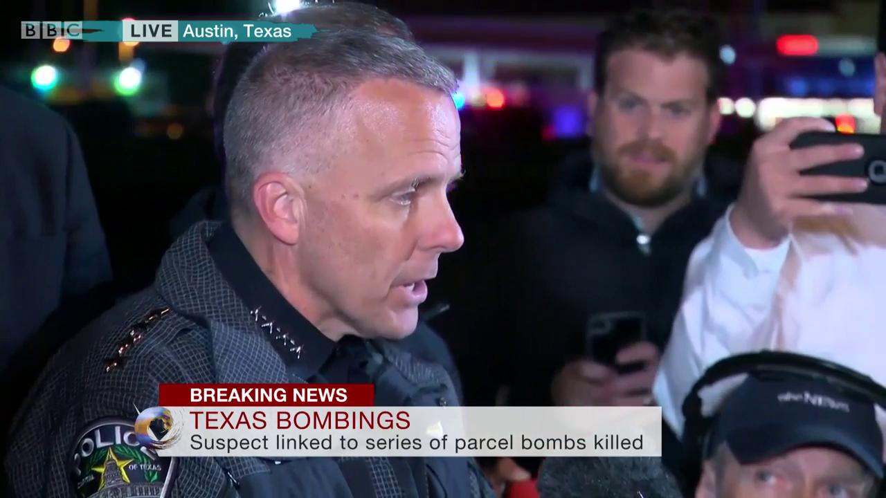 Police describe the moment they confronted suspect in Austin parcel bombings https://t.co/YNjuWNUqNT https://t.co/Aes3jLrVR4