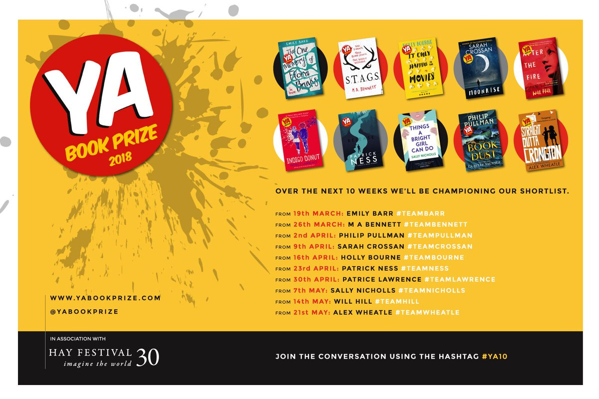 Imagine That Lawrence Ma >> The Ya Book Prize On Twitter Here S Our Full Ya10