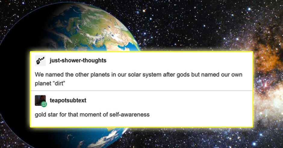 12 Times Tumblr Told Us the Cold Hard Truth About Outer Space - https://t.co/TH3Y7n2rOm https://t.co/tguDhpd2PB