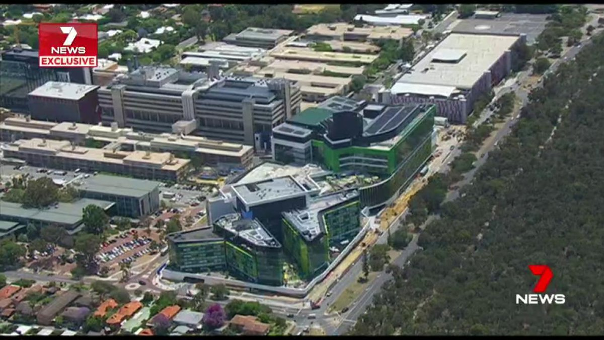 Image for the Tweet beginning: Perth's problem-plagued Children's Hospital has