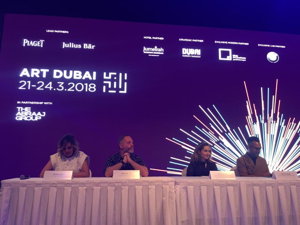 #Saudi participation at #ArtDubai2018 —  http:// bit.ly/2u9iDK8     @artdubai @MiskKSA @miskartinst #SaudiArtists<br>http://pic.twitter.com/xKBpcrtnUc