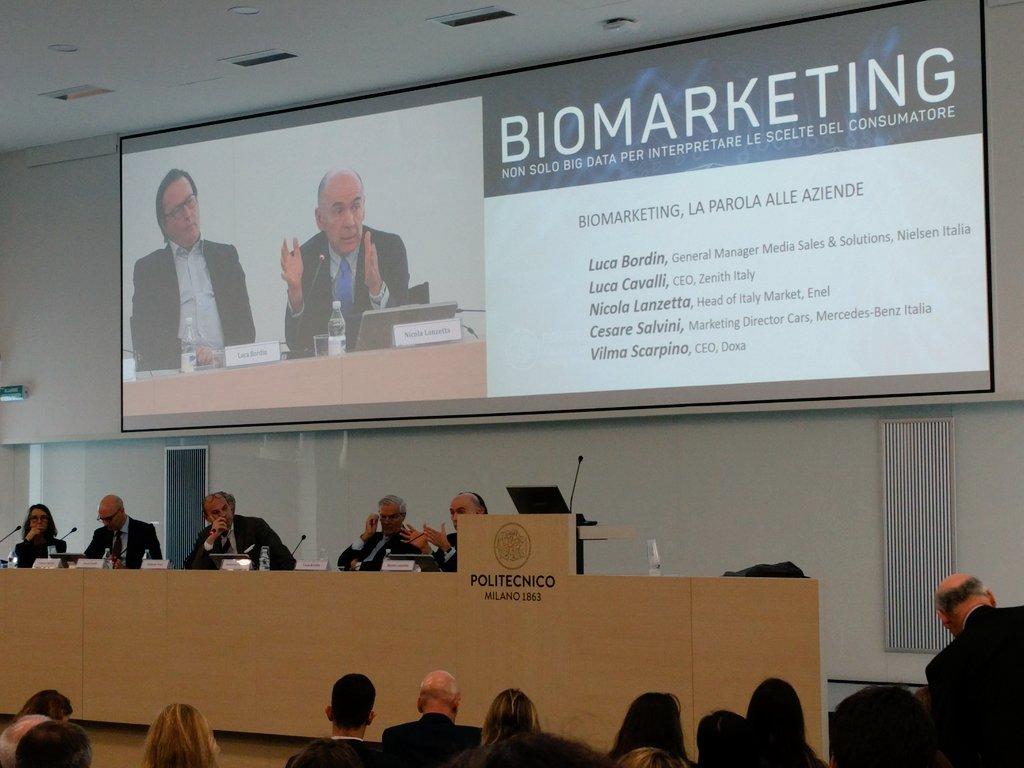 Una tavola rotonda ricca di competenze e spunti interessanti #Biomarketing @MIP_PoliMi https://t.co/M4FMhOWg1d