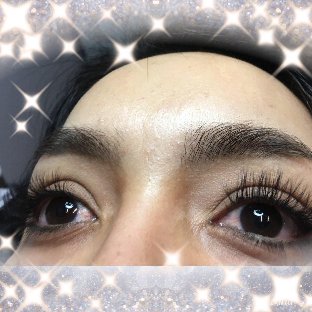 20f9800bbb6 A great example of a set of Novalash eyelash extensions. By lash artist  Ginny. Call us today @ 843-790-5274 to book your appointment. ...