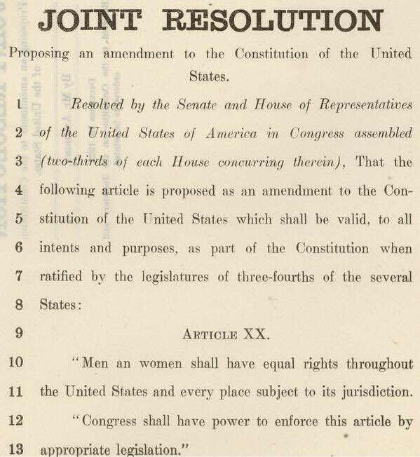 an analysis of the necessity of the equal rights amendment It looks like you've lost connection to our server please check your internet connection or reload this page.