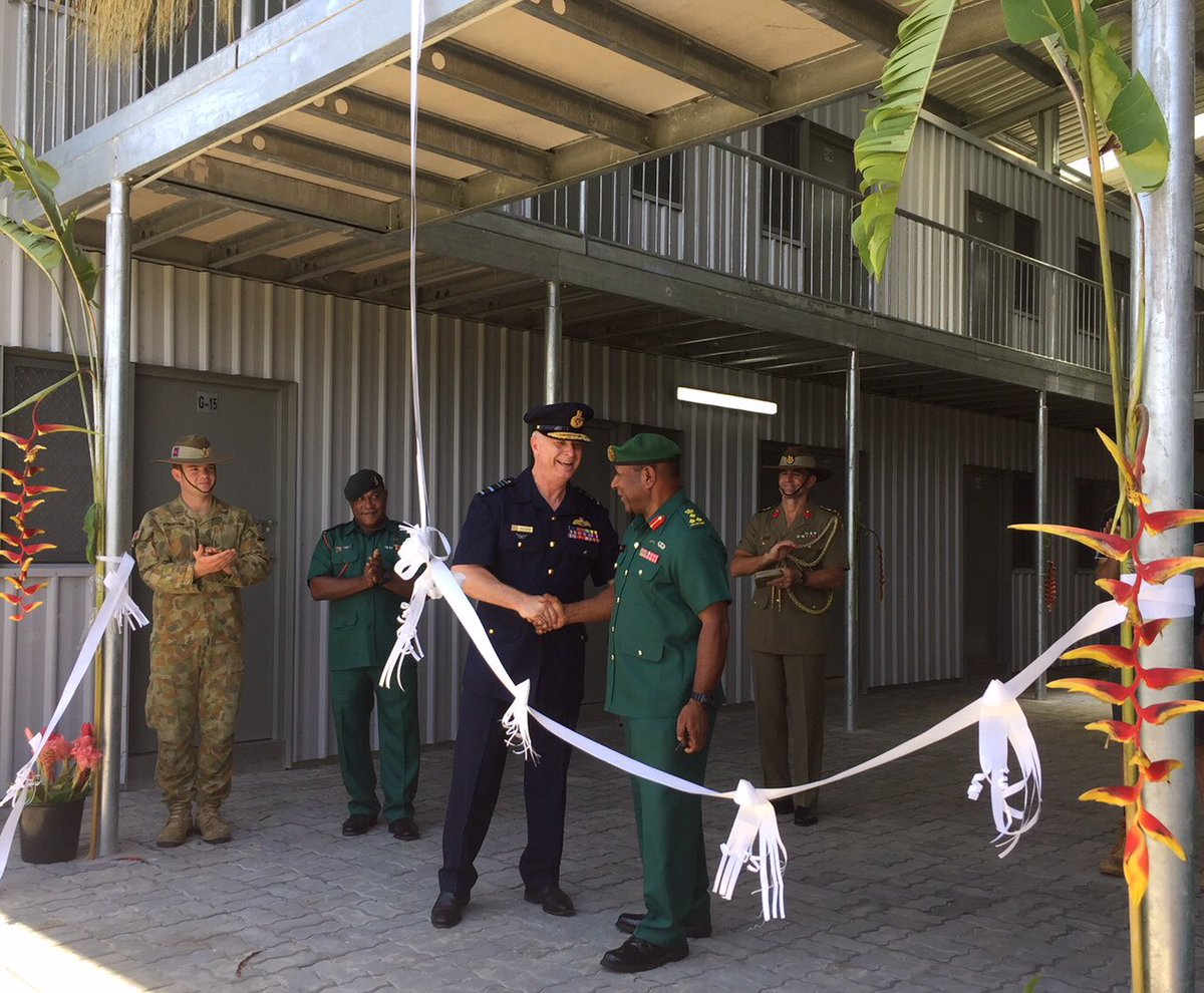 New PNGDF accommodation at Moem Barracks is now open facebook.com/permalink.php?…