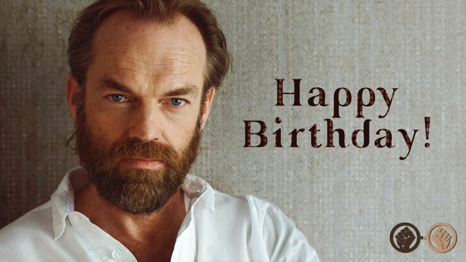 Happy Birthday, Hugo Weaving! The superb actor is 58 today!