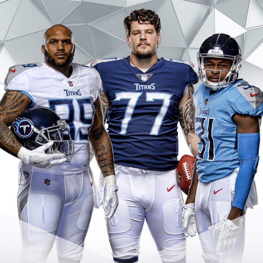 Uniforms Unveil Titans New Their And Helmets