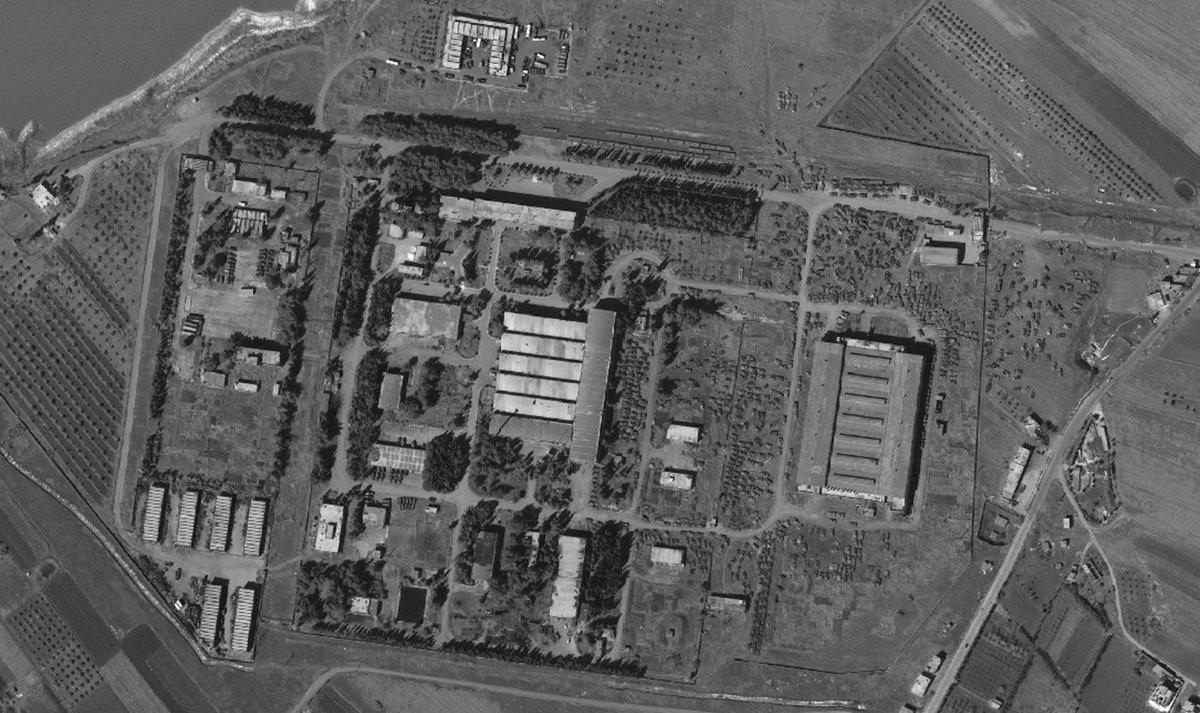 Ремонтная база бронетехники в Хомсе