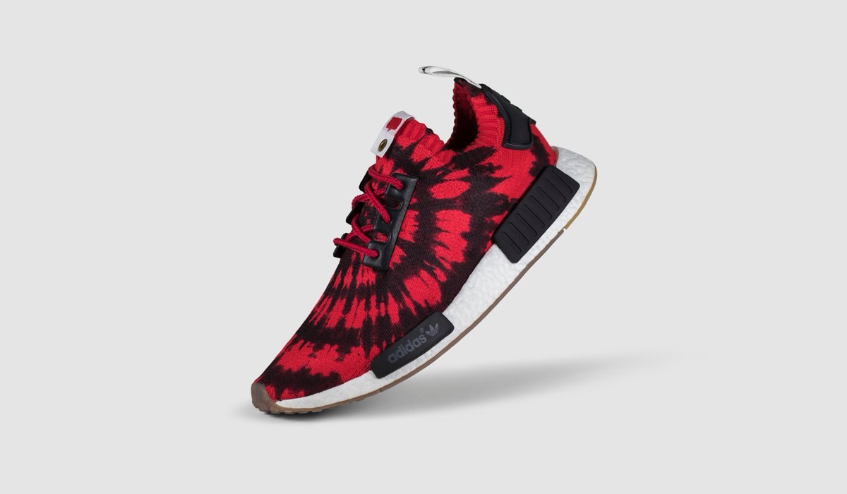 3c43ace263931 The Nice Kicks x NMD Runner PK features a tie-dyed upper inspired by vintage  concert posters and local art found in the Haight District of San Francisco.
