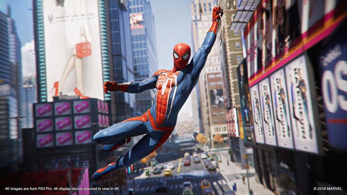 Hasil gambar untuk spider-man ps4