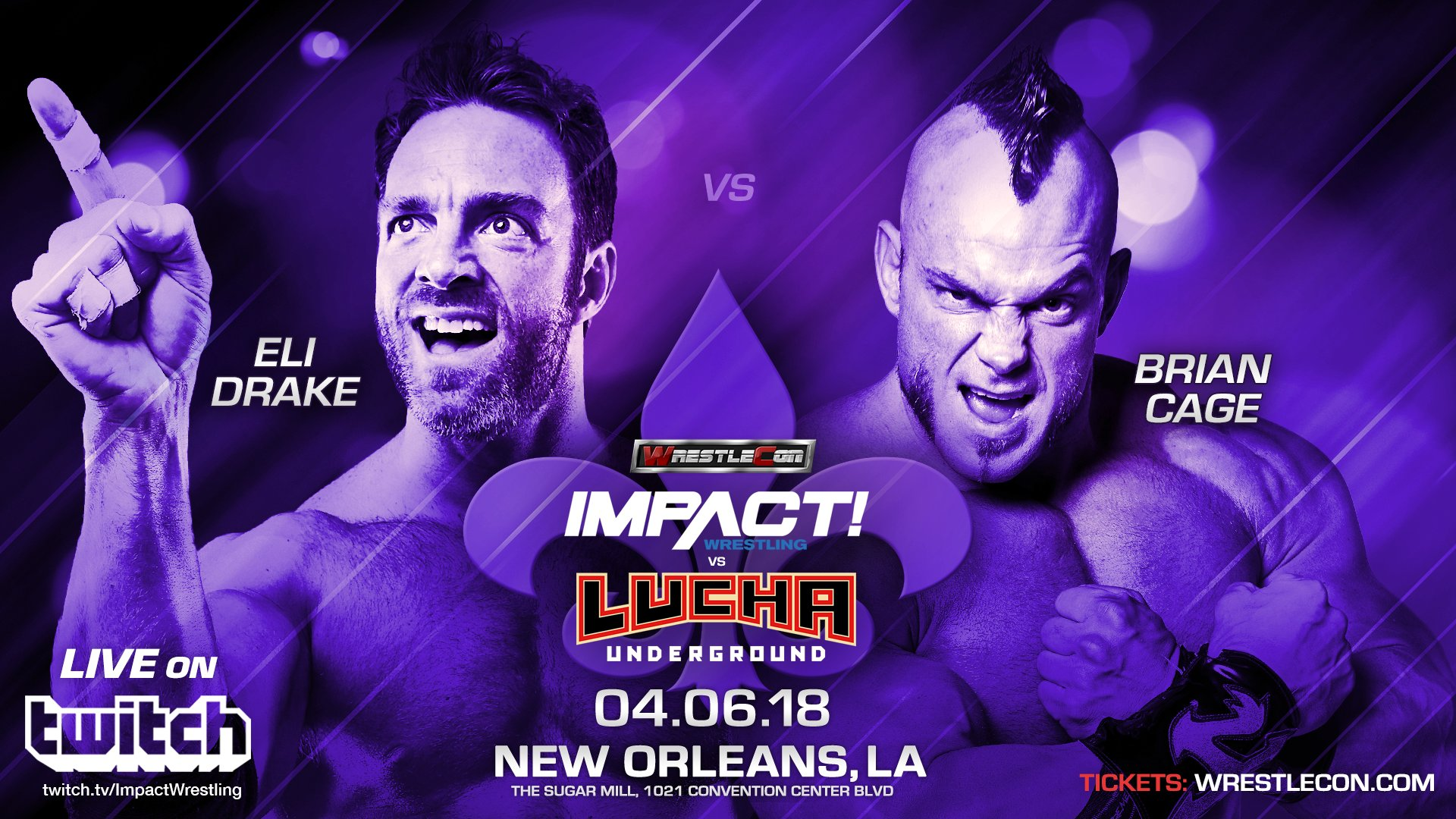 impact vs lucha underground matches