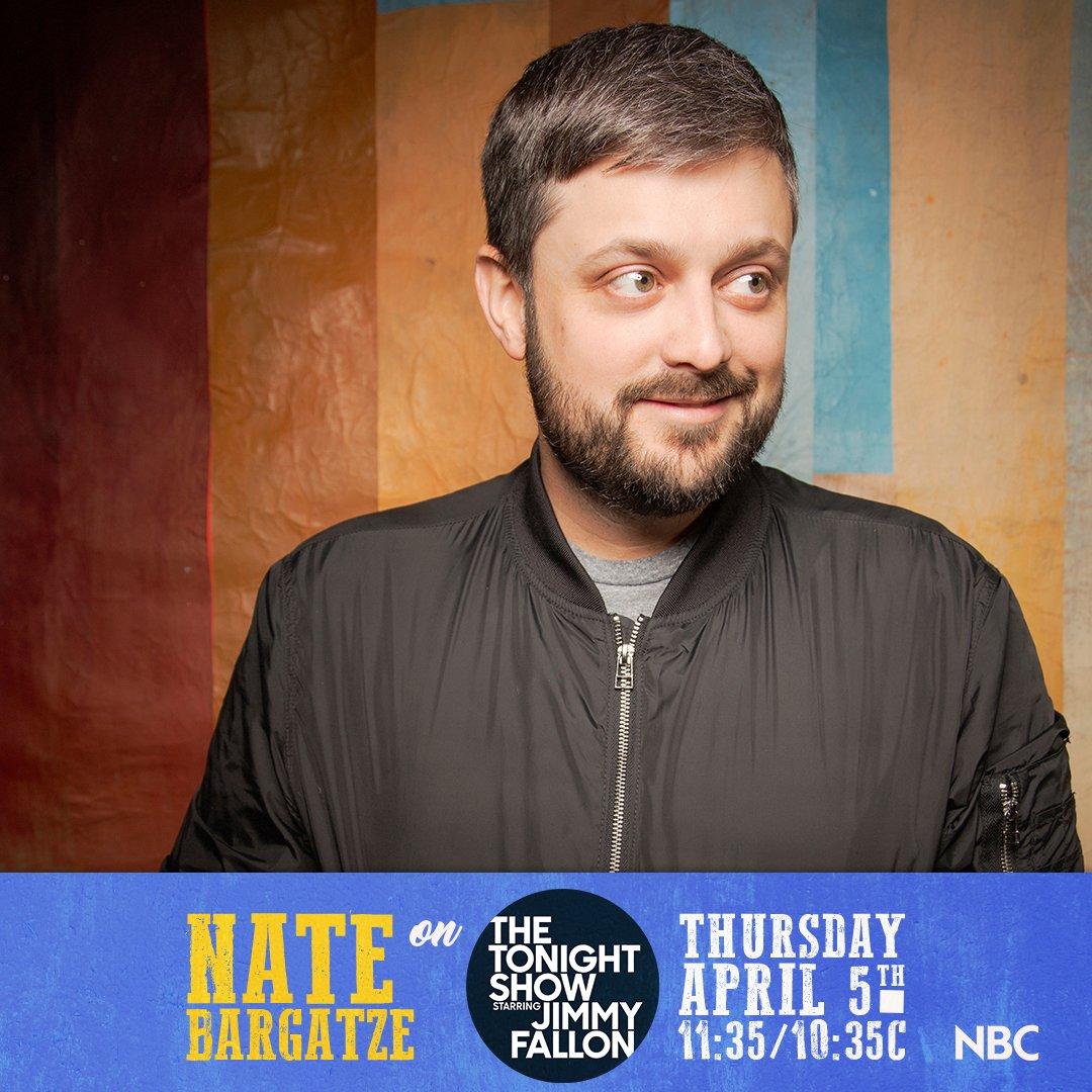 Catch me on @FallonTonight tomorrow night at 11:35/10:35C on @NBC.
