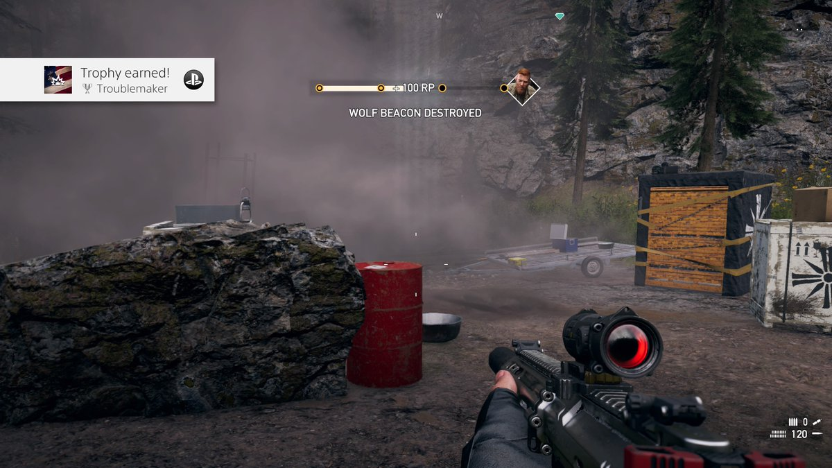 Mantagtj001 On Twitter Far Cry 5 Troublemaker Silver Discover