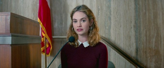 Happy Birthday to Lily James who turns 29 today! Name the movie of this shot. 5 min to answer!