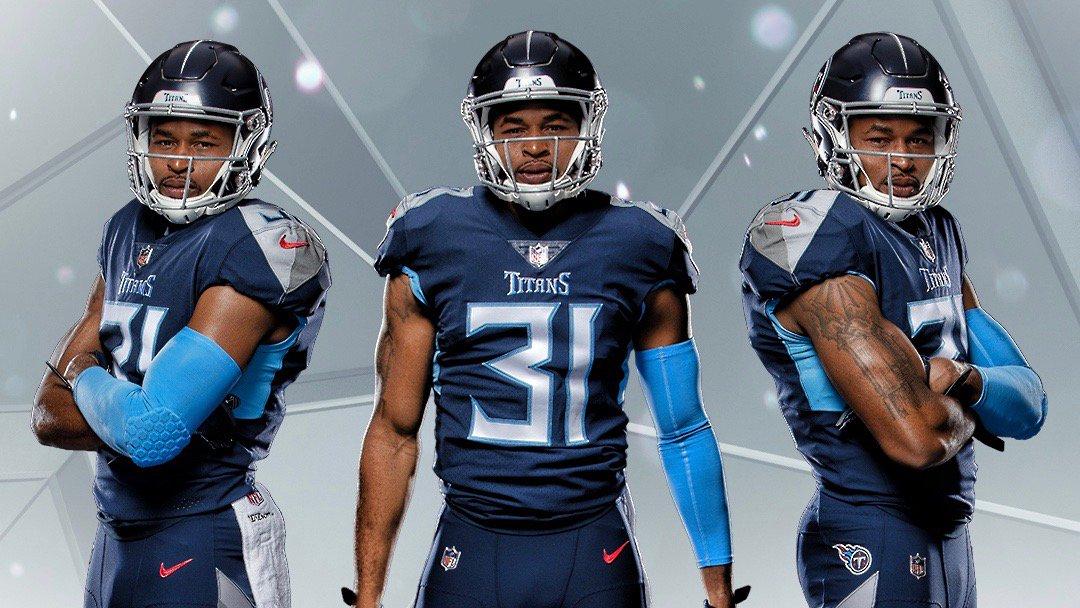 Titans New Uniforms 2020.The Titans Unveil Their New Uniform Set Uni Watch