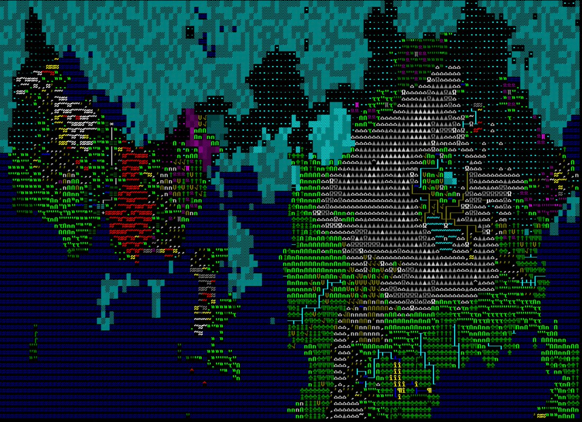 Caves Of Qud World Map.Jason Grinblat On Twitter Those Imaginary Place Names Are