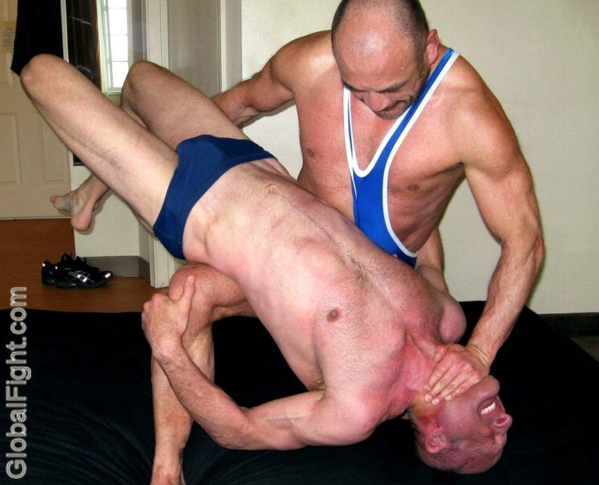 Gay bondage wrestling