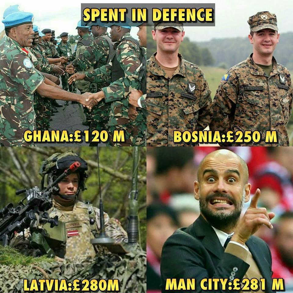 Football Memes On Twitter Man City Defense