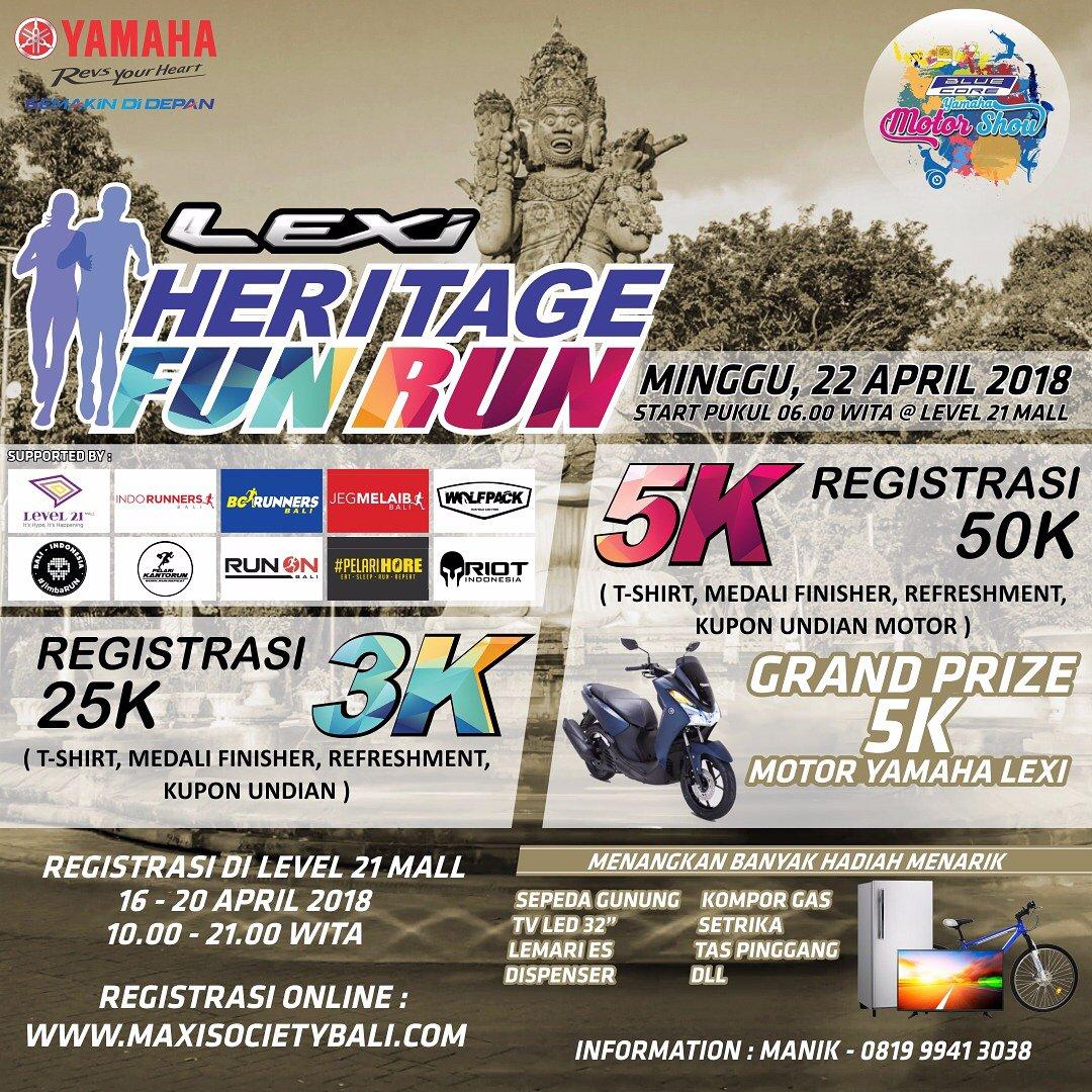 Lexi Heritage Fun Run • 2018