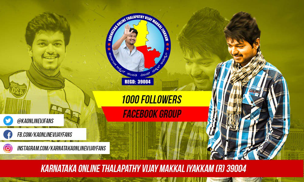 Karnataka Vijay Fans on Twitter: