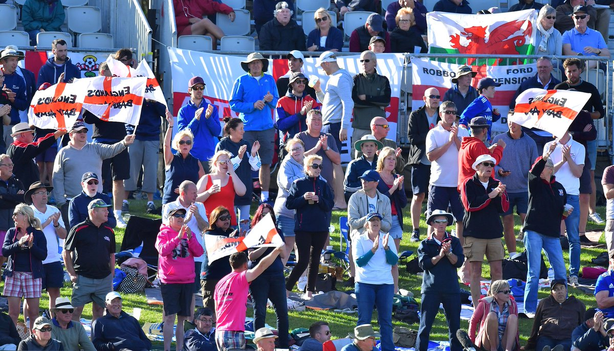 Barmy Army lights up the stands during England's international matches. (Credits: Twitter)