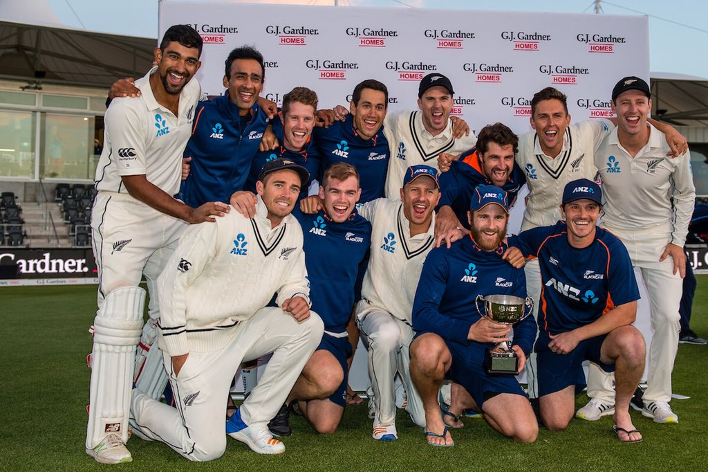 What a final day of the season! Just New Zealand's fourth Test series victory against