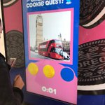 Get them before they're gone!  Last chance to take a look at the #OREO dispenser on New Oxford Street, London & bag yourself some #free Oreos!   #Freecookies
