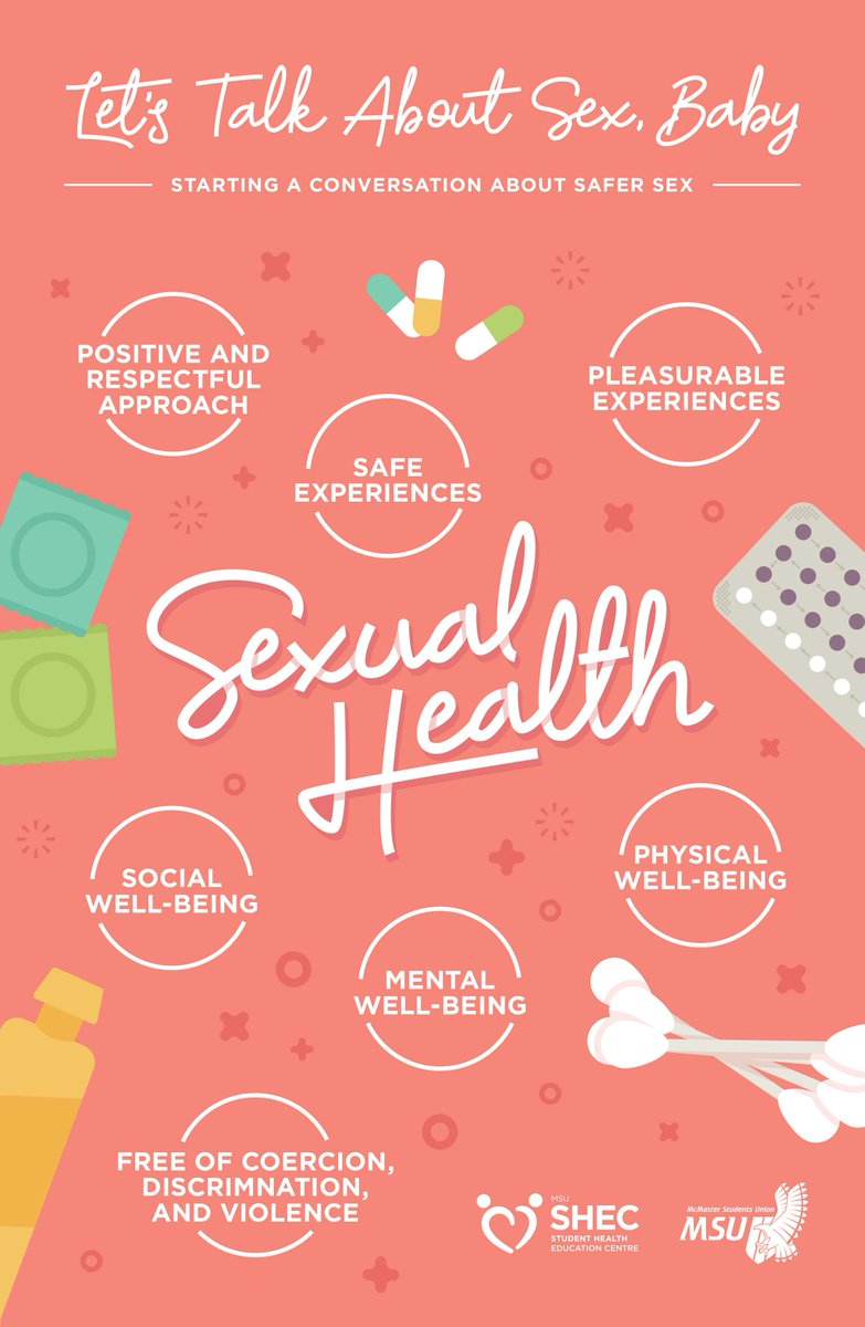 Social media posts for sexual health