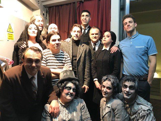 Personajes Familia Addams. Amazing As Lucen En La Actualidad Los ...
